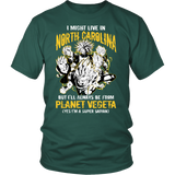 Super Saiyan - North Carolina - Men Short Sleeve T Shirt - TL00075SS