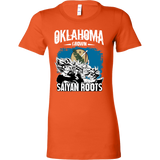 Super Saiyan Oklahoma Grown Saiyan Roots Woman Short Sleeve T Shirt - TL00153WS