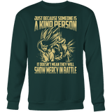 Super Saiyan Gohan Show Mercy in Battle Sweatshirt T Shirt - TL00446SW