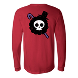 One Piece - Brook symbol - Long Sleeve T Shirt - TL00902LS