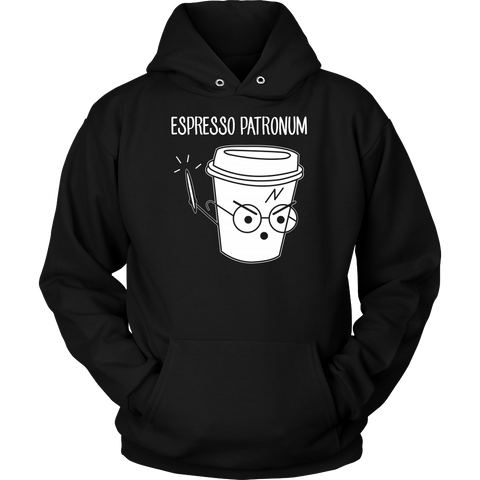 Espresso Patronum Unisex Hoodie T Shirt - TL00634HO - The TShirt Collection