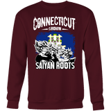 Super Saiyan Sweatshirt T shirt - FOR CONNECTICUT FANS - TL00163SW