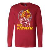 Super Saiyan Goku Dad Long Sleeve T shirt - TL00484LS