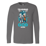 Super Saiyan - Training to go God Mode Long Sleeve T shirt - TL00011LS