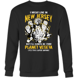 Super Saiyan New Jersey Sweatshirt T shirt - TL00072SW