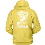 Super Saiyan Majin Vegeta I'm Not Monster Unisex Hoodie T shirt -TL00051HO