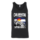 Super Saiyan Colorad Grown Saiyan Roots Unisex Tank Top T Shirt - TL00151TT
