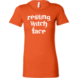 Halloween - resting witch face - Women Short Sleeve T Shirt - TL00755WS