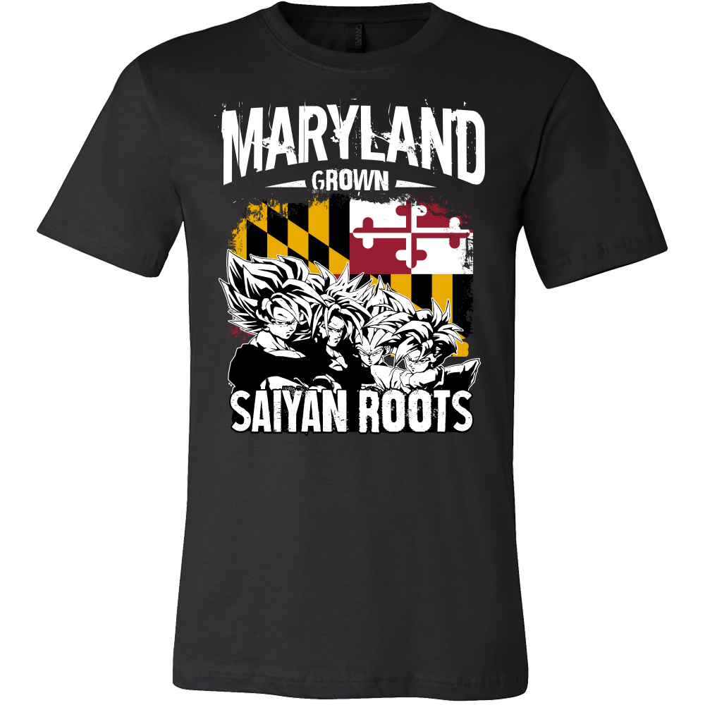 Super Saiyan Maryland Men Short Sleeve T Shirt - PF00160SS