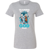 Super Saiyan Training to go God Mode Woman Short Sleeve T shirt - TL00011WS