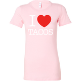 Taco mexican i love tacos Woman Short Sleeve Funny T Shirt - TL00589WS