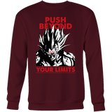Super Saiyan Majin Vegeta push sweatshirt shirt limits - TL00228SW