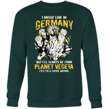 Super Saiyan I May Live In Germany Sweatshirt T shirt - TL00113SW