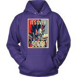 Super Saiyan Vegeta Unisex Hoodie T shirt - Over 9000 - TL00129HO