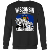 Super Saiyan I May Live in Wisconsin Sweatshirt T shirt - TL00147SW