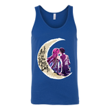 SAO Sword Art Online - I Love you to the moon and back - Unisex Tank Top T Shirt - TL01221TT