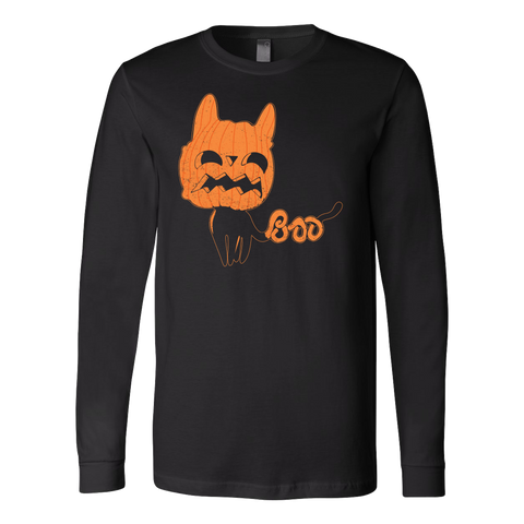 Halloween - Boo - Men Long Sleeve T Shirt - TL00733LS