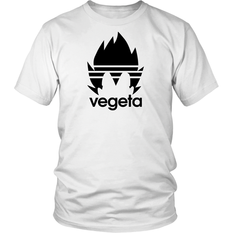 Super Saiyan Vegeta Adidas Symbol Men Short Sleeve T Shirt - TL00537SS
