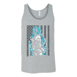 American Super Saiyan God Blue Goku Unisex Tank Top T Shirt - TL00002TT - The TShirt Collection