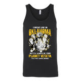 Super Saiyan I May Live in Oklahoma Unisex Tank Top T Shirt - TL00084TT