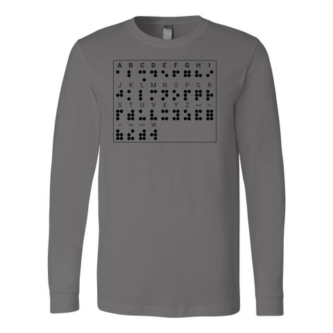 BRAILLE Long Sleeve T Shirt - TL00686LS - The TShirt Collection
