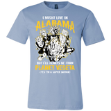 Super Saiyan Alabama Men Short Sleeve T Shirt - TL00088SS