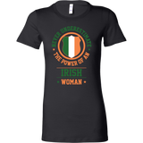 Limited Edition Irish Woman Short Sleeve T Shirt - TL00646WS