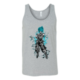 Super Saiyan Goku God Blue Unisex Tank Top T Shirt -TL00207TT