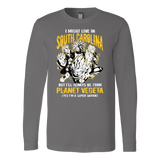 Super Saiyan South Carolina Long Sleeve T shirt - TL00083LS