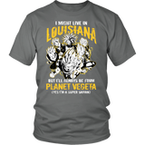 Super Saiyan - Louisiana - Men Short Sleeve T Shirt -TL00077SS