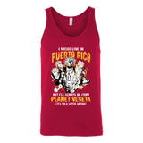 Super Saiyan I May Live in Puerto Rico Unisex Tank Top T Shirt - TL00066TT