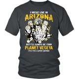 Super Saiyan - Arizona Group - Men Short Sleeve Shirt -TL00065SS