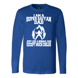 Super Saiyan Dad Long Sleeve T shirt - TL00536LS