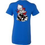 Super Saiyan Majin Vegeta Woman Short Sleeve T shirt- TL00054WS