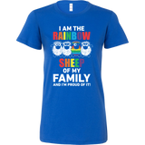 LGBT- I am the rainbow sheep - Woman Short Sleeve T Shirt - TL00985WS