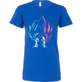 Super Saiyan - Super Saiyan Blue vs Super Saiyan Rose - Woman Short Sleeve T Shirt - TL00829WS