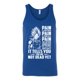 Super Saiyan Majin Vegeta Pain Unisex Tank Top T Shirt - TL00437TT