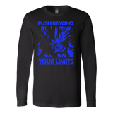 Super Saiyan Majin Vegeta push limits Long Sleeve T shirt - TL00225LS