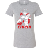 Super Saiyan Goku Chi Chi Woman Short Sleeve T Shirt - Tl00494WS