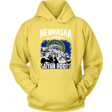 Super Saiyan Nebraska Grown Saiyan Roots Hoodie Shirt - TL00166HO