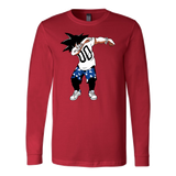 Super Saiyan Goku DAB Dance Long Sleeve T shirt -TL00233LS