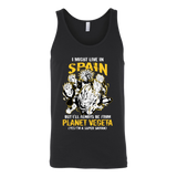 Super Saiyan I May Live in Spain Unisex Tank Top T Shirt - TL00112TT