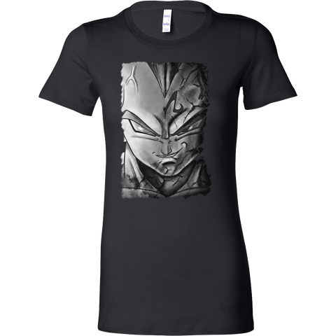 Super Saiyan - Majin Vegeta - Woman Short Sleeve T Shirt - TL01144WS