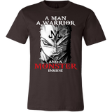Super Saiyan Vegeta Monster Inside Men Short Sleeve T Shirt- TL00281SS
