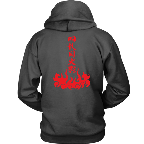Naruto - The Fourth Hokage - Unisex Hoodie T Shirt - TL01232HO