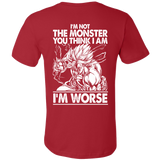 Super Saiyan Broly Monster Men Short Sleeve T Shirt - TL00019SS