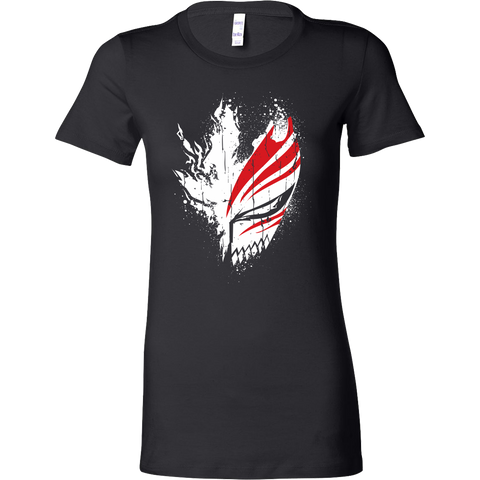 Bleach - Ichigo Mask - women short sleeve t shirt - TL00856WS - The TShirt Collection