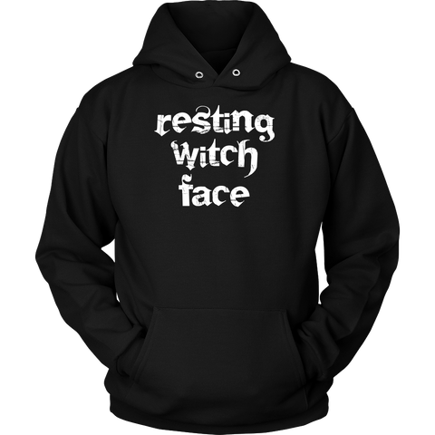 Halloween - resting witch face - Unisex Hoodie T Shirt - TL00755HO