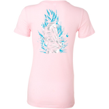 Super Saiyan God Blue Goku Woman Short Sleeve T shirt - TL00020WS