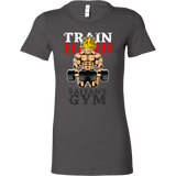 Super Saiyan Goku Gym Train Hard Woman Short Sleeve T Shirt - TL00441WS